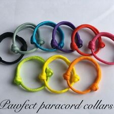 Paracord Whelping Collars ID Collars, Adjustable And Reusable Puppy/Kitten
