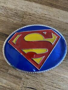 Superman DC comic belt buckle