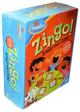 Zingo  Bingo with A Zing Board game (discontinued by manufacturer) Sealed