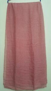Brand New Women Plain Long Scarf, Summer Spring, Hijab, 100% Polyester,
