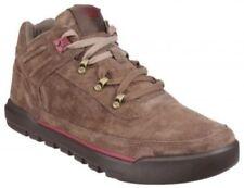 Zapatillas deportivas de hombre en color principal marrón de ante