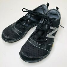 New Balance Minimus MT10BS3 Mens Black Vibram Trail Running Shoes 10 Lightweight