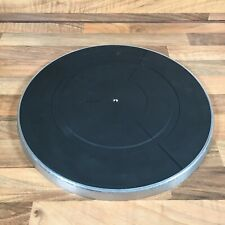 Vintage Pioneer PNR-200 Turntable Platter & Rubber Mat Only PL-460 Replacement