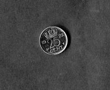 Netherlands: 1972 25 Cent Coin (Dutch)