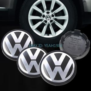 4x Wheel Center Hub Caps Emblem Logo VW Cover 56 60 65 70 75mm Volkswagon