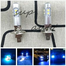 NEW H1 Bright 8000K ICE BLUE 100W CREE LED Headlight Bulbs Kit Fog Driving Light