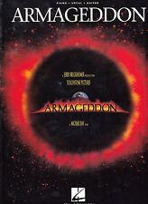 "ALBUM PARTITIONS B.O.F (O.S.T)""ARMAGEDDON"" ZZ TOP AEROSMITH BON JOVI PATTY SMYTH"
