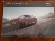 Jaguar F Type Coupe & Roadster brochure Oct 2016