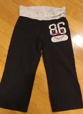 Womens Victoria Secret Pink cropped Yoga Pants size Medium