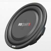 NEW MB Quart DS1-204 400 Watt 8 Inch Shallow Slim Sub DVC 4 Ohm Car Subwoofer