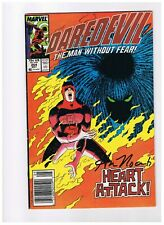 Daredevil #254 signed by Ann Nocenti (VF-)