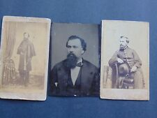 CDV & TINTYPE LOT of CAPTAIN EDWIN S. HITCHCOCK 2nd CONNECTICUT VOLUNTEERS