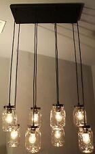 Rustic Vintage Industrial Edison Bulb Type Bronze Island Bar Light UL Rated