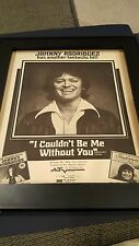 Johnny Rodriguez I Couldn't Be Me Without You Rare Promo Poster Ad Framed!