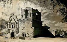 1930s RPPC Tumacacori National Monument AZ Santa Cruz Co., Santa Fe Camera Shop