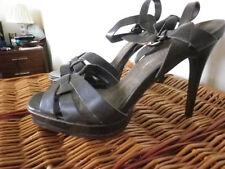 Evening Ankle Straps Composition Leather Women's Sandals & Beach Shoes