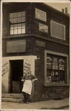 Preston. E.Smith Grocer's Shop, 25 Richmond Road at Greenwood Street.