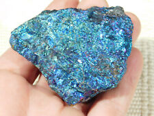 A Big Vivid Blue and Purple Peacock Copper or Chalcopyrite or Peacock Ore 226gr