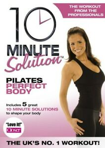 10 Minute Solution Pilates Perfect Body Suzanne Bowen DVD