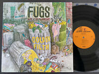 THE FUGS Golden Filth Live LP VINYL REPRISE RS 6396 US GARAGE ROCK 1970 EX/EX