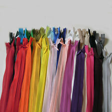 10PCS 40cm length 16 inch  Invisible Nylon  Zipper for Tailor Sewing Tools DIY