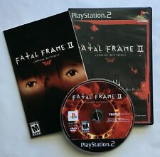 Fatal Frame II 2 Crimson Butterfly for PS2 PlayStation 2 Complete & Tested Game