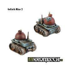 Ork Goliath Mines (2) -Kromlech-Ork Tankbustas Attack Bomb Squig Grot Tank