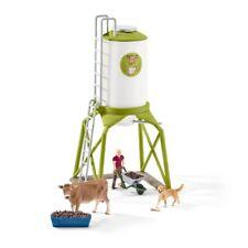 SCHLEICH®  Farm Life 41429   Futtersilo mit Tieren, NEU