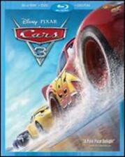 Cars 3 Pixar Disney Blu Ray DVD Digital 2017 Animation With Slipcover