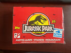 1992+Jurassic+Park+Movie+Trading+Card+Box+by+Topps+-+SEALED+%7E+Possible+Holograms