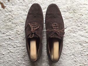Grenson suede brogues  Size 10F
