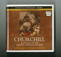 Churchill: The Great Democracies -  Unabridged Audiobook - 10CDs