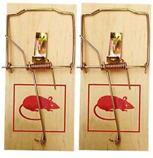 2 x Mäusefalle Mausefalle Holz Mausefallen Falle Maus Mäuse Mäusefallen