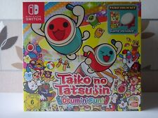 Taiko no Tatsujin Drum 'n' Fun! Collector Switch -NEUF-