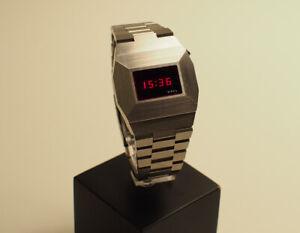 Vintage Birks LED watch Uhr 1977