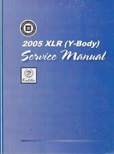 2005 Cadillac XLR Service Repair Workshop Shop Manual GMP05XLR- 4 Volume Set