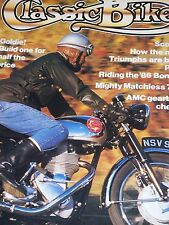 Classic Bike 03/86 BMW R90S Buying Guide,BSA Gold Star,Norton Inter Test,Greeves