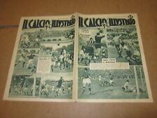 IL CALCIO ILLUSTRATO N°16 APRILE 1938 BOLOGNA MILAN BOFFI LIGURIA LIVORNO