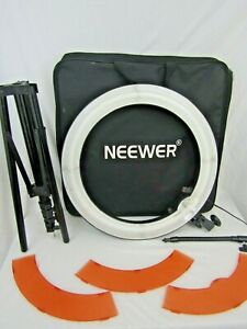 """Ring Light Neewer 18"""" Dimmable SMD LED Ring Light Kit with stand"""