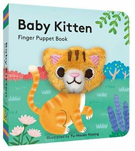 Baby Kitten: Finger Puppet Book: (Board Book with Plush Baby Cat, Best Baby Book