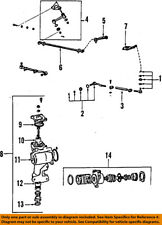TOYOTA OEM 86-91 Pickup Steering Gear-Pitman Arm 4540135220