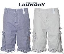 Cargo, Combat Regular Fit Striped Shorts for Men