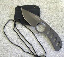 Neck Knife Security Agenten Halsmesser Fingermesser Neckknife Kydexscheide 8634