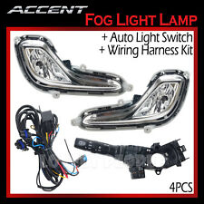 New Fog Light Lamp Complete Kit,Wiring Harness OEM for 2012-2013 Hyundai Accent