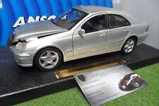 MERCEDES BENZ C-CLASS Berline gris au 1/18 ANSON 30390 voiture miniature