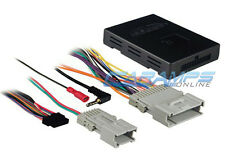 NEW CAR STEREO RADIO REPLACEMENT INTERFACE WITH BOSE & ONSTAR INTERFACE HARNESS