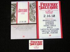 Freeway & Jake One Stimulus Package Rap Hip-Hop Promo Poster & Sticker