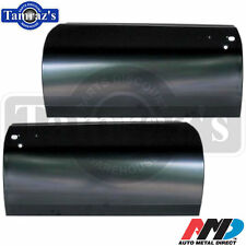 68-72 Chevy II Nova Outer Door Skin Panel - AMD - LH RH  Pair