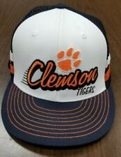 Clemson Tigers Snapback Trucker Hat Cap USA  2 Stripes Top of the World Caps