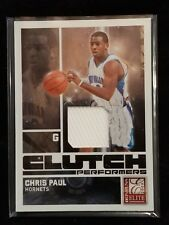2009-10 Donruss Elite #11 Chris Paul Clutch Performers Jersey Patch #188/199
